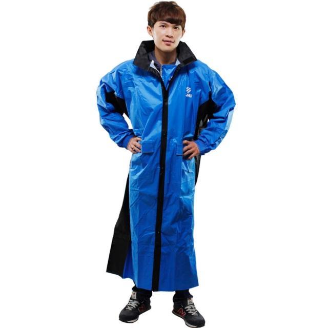【好物分享】MOMO購物網【JUMP】新二代 新帥前開式休閒風雨衣-藍黑價格momo購物台電話