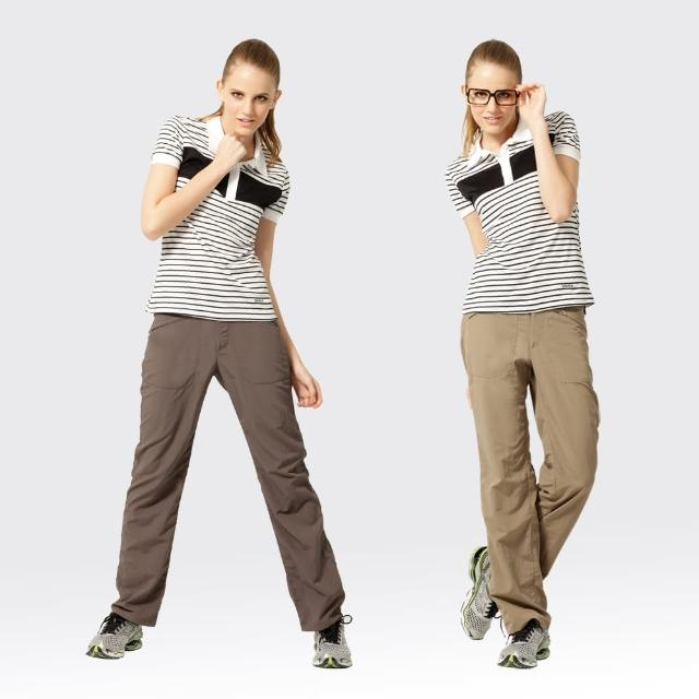 【SAmomo旅遊網MLIX 山力士】女透氣抗UV休閒長褲#W201
