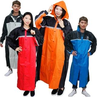 【JUMP】精緻前開雨衣超大尺寸5XL+通用型雨鞋套