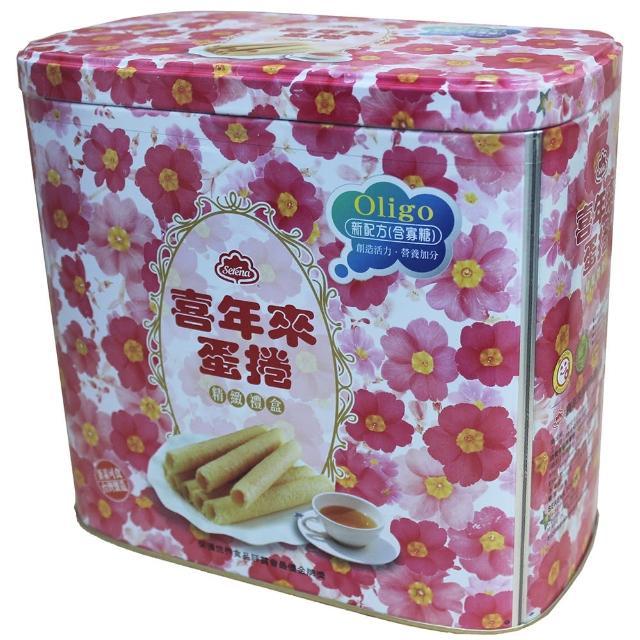 【喜年來】花筒蛋捲oligo禮盒5momo拍賣網12公克(蛋捲)