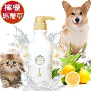 【愛戀花草】馬鞭草精油 ★ 絲滑柔順寵物潤絲精(500MLx4瓶)