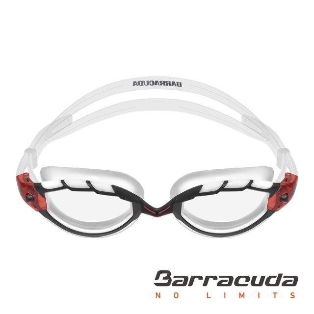 【美國Barracuda巴洛酷達】三鐵賽事專業泳鏡-TRITON#3momo客服中心電話3925(抗UV 舒適 蛙鏡)