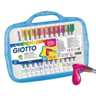 【義大利 GIOTTO】高品質不透明水彩12ml - 24色(305000)