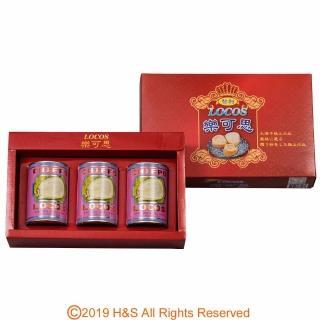 【樂可思】智利鮑貝超值禮盒(3罐入)
