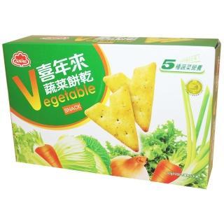 【喜年來】蔬菜餅乾80g(蔬菜餅)