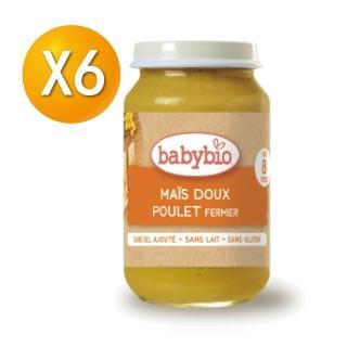 【法國BABYBIO】生機鮮蔬雞肉泥(200gx6)