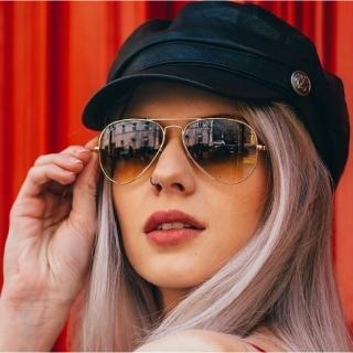【RayBan太陽眼鏡】經典飛官款(金#RB3025 00151-58mm)