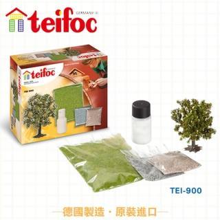 【德國teifoc】益智磚塊建築玩具-建築造景材料包(TEI900)
