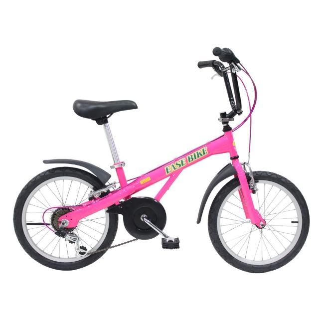 【勸敗】MOMO購物網【EASE BIKE】18吋6速 SHIMANO 巨輪多功能休閒車 童車推薦momo一台