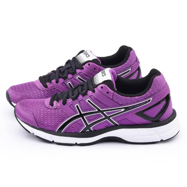 【Asicsmomo客服】女款GEL-GALAXY 8輕量慢跑鞋(T575N-3690-紫)