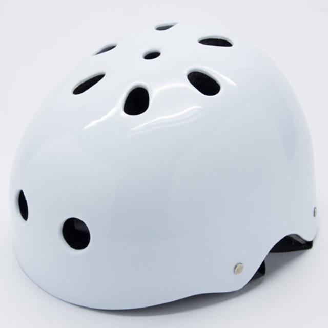 【勸敗】MOMO購物網【D.L.D 多輪多】專業直排輪 溜冰鞋 自行車 安全頭盔 安全帽(白)好用嗎富邦mo mo
