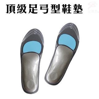POLIYOU 頂級抑菌/除臭足弓型鞋墊/台灣製造(一雙)