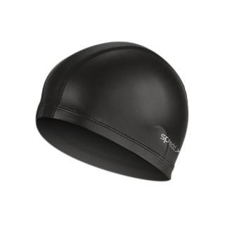 【SPEEDO】成人合成泳帽ULTRAPACE -游泳 蛙鏡(黑)