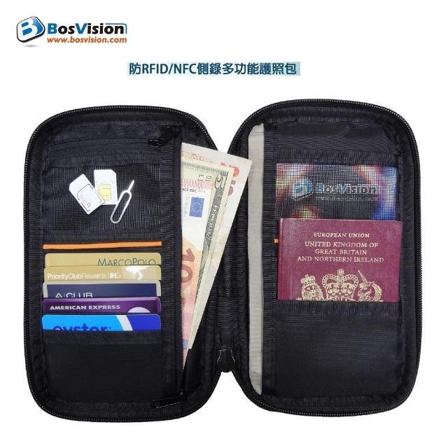 【好物分享】MOMO購物網【Bosvision】防RFID/NFC側錄多功能護照包去哪買momo購物網
