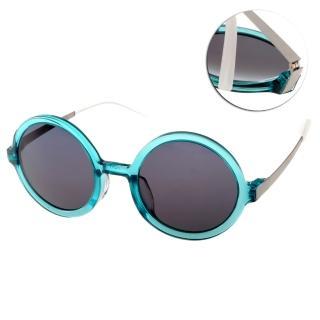 【JULIO太陽眼鏡】完美圓框工藝(綠#EDGE6-BALI TGN)