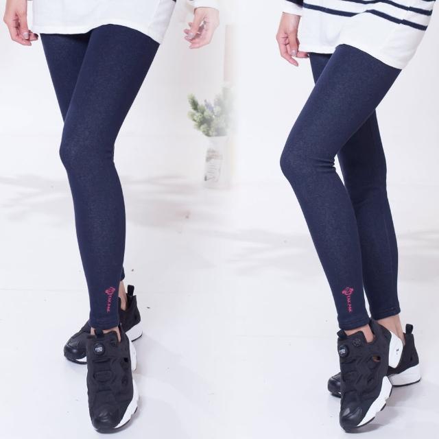 YAKPAmomo購物評價K猴子軍團一體成織顯瘦密貂絨纖腿褲(M)