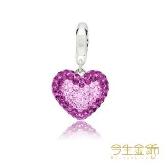 【今生金飾】施華洛水晶(紫色迷情  繆斯女神商品)