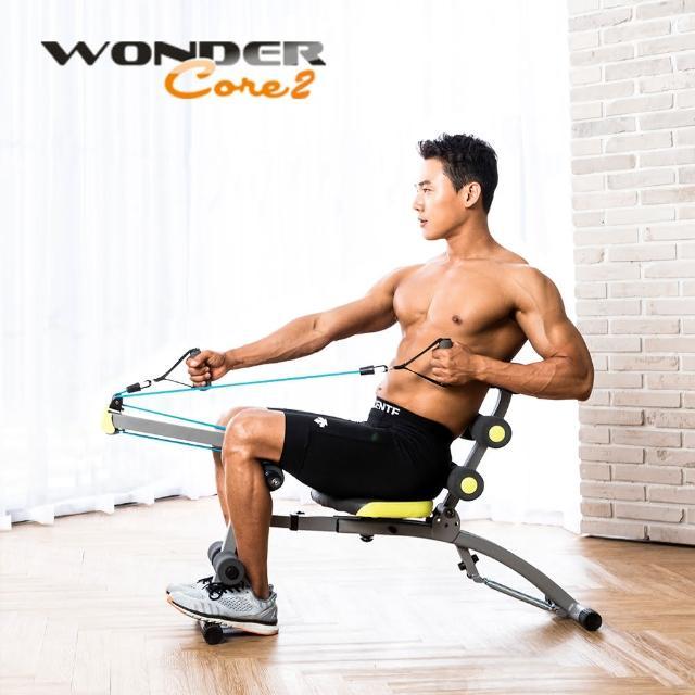 【網購】MOMO購物網【Wonder Core 2】全能塑體健身機(重力加強版附30分鐘教學光碟)價錢momo購物網客服電話