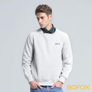 【BOFOX 寶狐】Glorious days連帽T恤(淺灰)