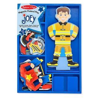 【美國 Melissa&Doug】木磁紙娃娃-職業英雄(MD3550)