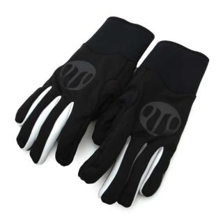 【SOOMOM】SOGK 戰神防風手套-全指手套 單車 自行車(黑白)