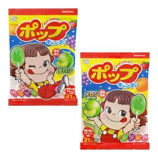 【不二家】POP棒棒糖21支(121.8g)