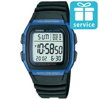 【CASIO】輕運動時代電子錶(W-96H-2A)