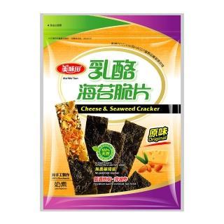 【美味田】乳酪海苔脆片36g-口味任選(原味/辣味)