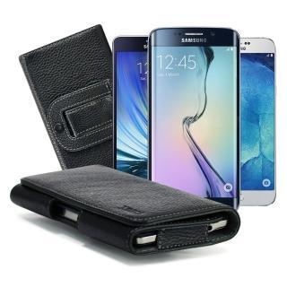 【X_mart】三星 Galaxy A7/A8/S6 Edge+麗緻真皮腰掛皮套