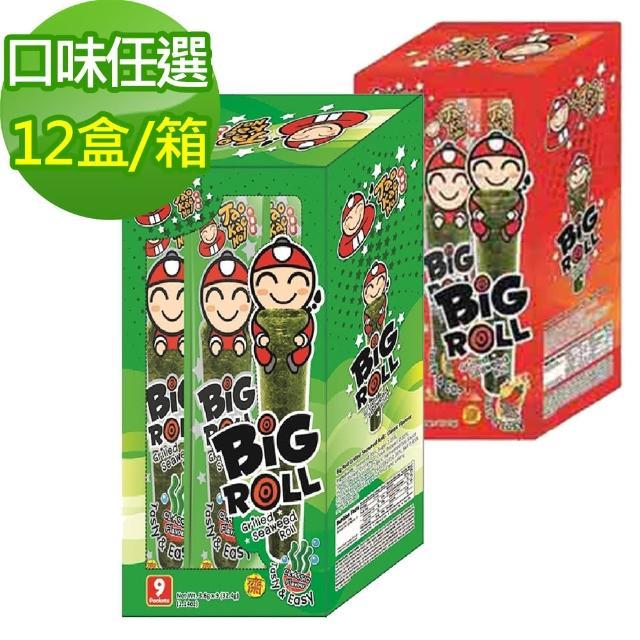 【小老板】momo 購物 信用卡海苔棒棒捲 辣香味(12盒)