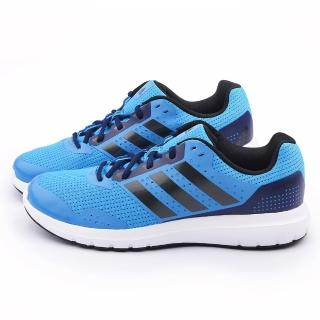 【Adidas】男款 Duramo 7W 輕量慢跑鞋(B33552-藍)