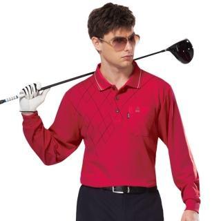 【SPAR】男版長袖POLO衫紅色(SP59534)