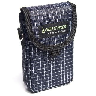 【aaronation 愛倫國度】前掀式單口袋隨身包台灣製造(AN-98713-藍白)