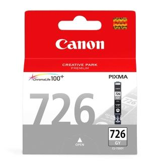 【CANON】CLI-726GY 原廠灰色墨水匣(速達)