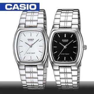 【CASIO 卡西歐】送禮首選-休閒時尚紳士錶_酒桶鏡面3*2.5cm(MTP-1169D)