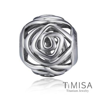 【TiMISA】玫瑰 純鈦飾品 串珠
