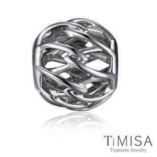 【TiMISA】交織純鈦飾品 串珠