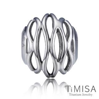 【TiMISA】波紋純鈦飾品 串珠