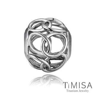 【TiMISA】圈圈 純鈦飾品 串珠