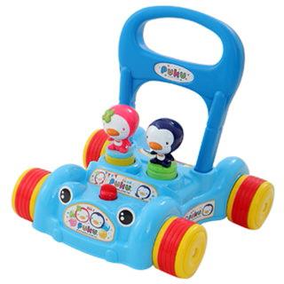 【PUKU 藍色企鵝】藍色企鵝助步車(藍色/粉色)
