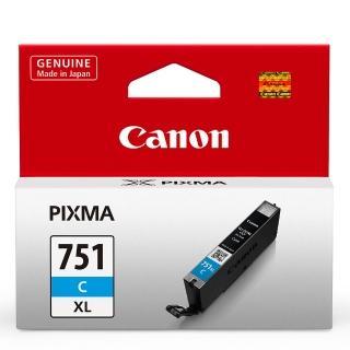 【CANON】CLI-751XL-C 原廠藍色高容量XL墨水匣(速達)