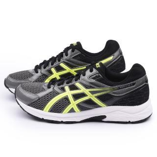 【Asics】男款 GEL-CONTEND 3 慢跑鞋(T5F4N-7307-黑灰)