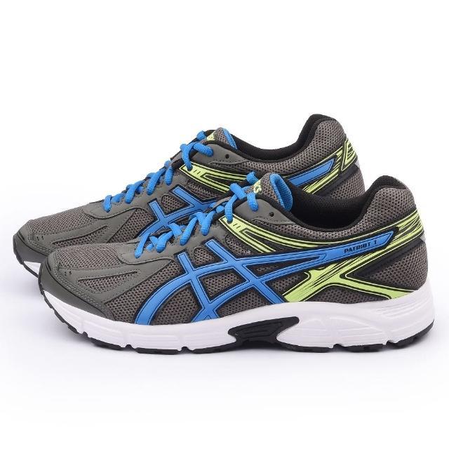 【網購】MOMO購物網【Asics】男款 PATRIOT 7 慢跑鞋(T4D1N-7539-灰)評價好嗎momo購物台電話