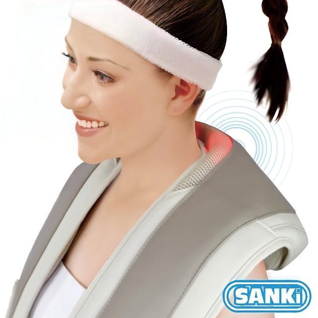 【網購】MOMO購物網【日本SANKI三貴】肩頸按摩大師 回銷美國升級版(灰)價錢momo折價眷