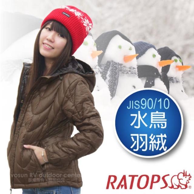 【勸敗】MOMO購物網【瑞多仕-RATOPS】女20丹超輕羽絨衣.羽絨外套.保暖外套.雪衣(RAD358 咖啡色)價錢momo網路客服
