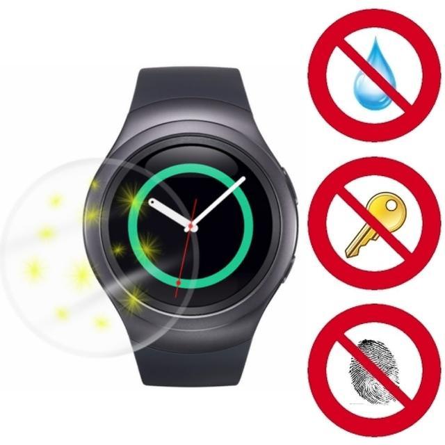 【好物推薦】MOMO購物網【D&A】SAMSUNG Gear S2專用日本NEW AS玻璃奈米5H 螢幕保護貼(超值2入)價錢momo 購物 momo 購物台
