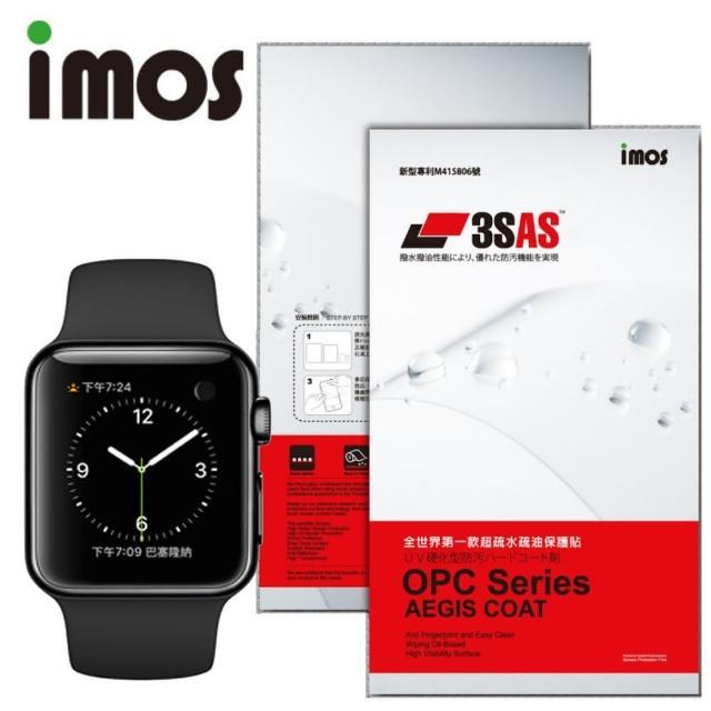 【富邦momo電話iMOS 3SAS】Apple Watch 42mm 螢幕保護貼