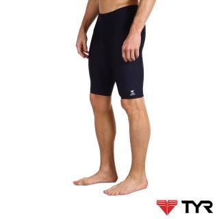 【美國TYR】男用馬褲黑色訓練款泳褲Solid Jammer(台灣總代理)