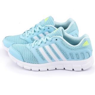 【Adidas】女款 BREEZE 101 2 W 輕量慢跑鞋(S81692-藍)