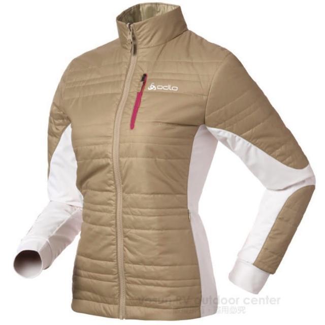 【私心大推】MOMO購物網【瑞士 ODLO】Primaloft 女輕量透氣雙面保暖外套.機能型風衣_非羽絨(524561 淺咖啡)價格momo 1台